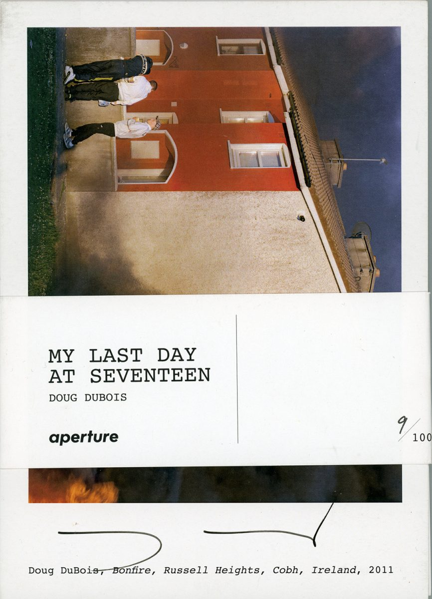 My Last Day at Seventeen (Signed Postcard Set) by Doug DuBois