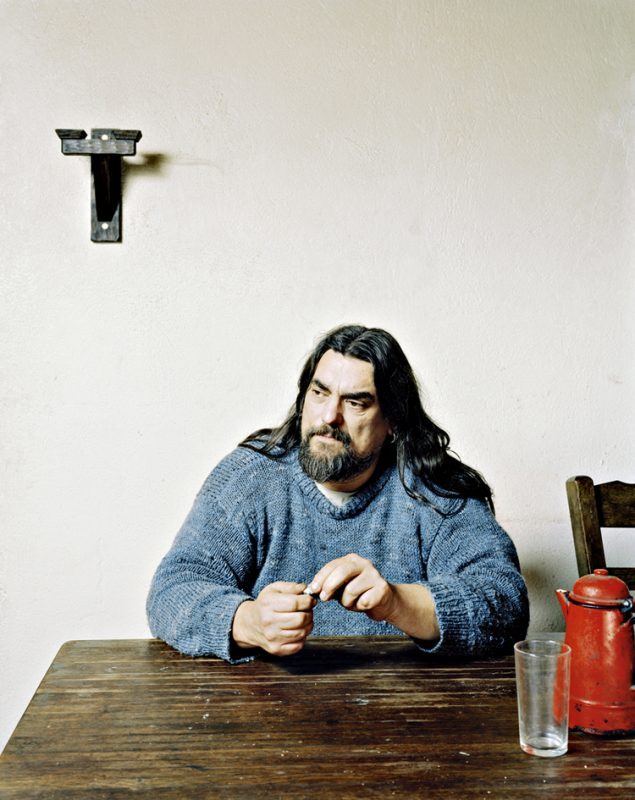 """Joachim by Simon Burch, From the exhibition """"Under a Grey Sky"""" at the Gallery of Photography, Dublin, October - November 2009"""