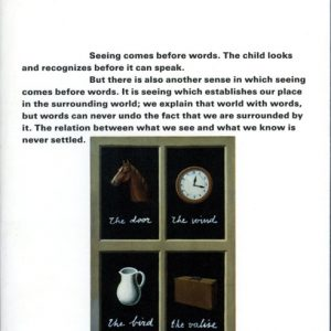 Ways of Seeing, John Berger - GOP Photobooks site