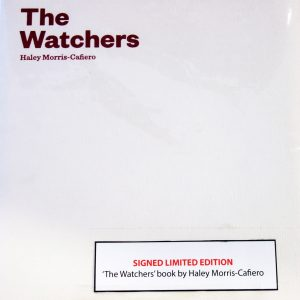 Haley Morris Cafiero signed copies of The Watchers, Dublin 2019