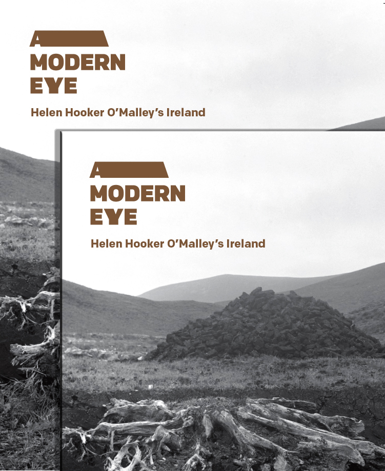 €25 for 2 copies of Helen Hooker O'Malley's Ireland exhibition special price offer.