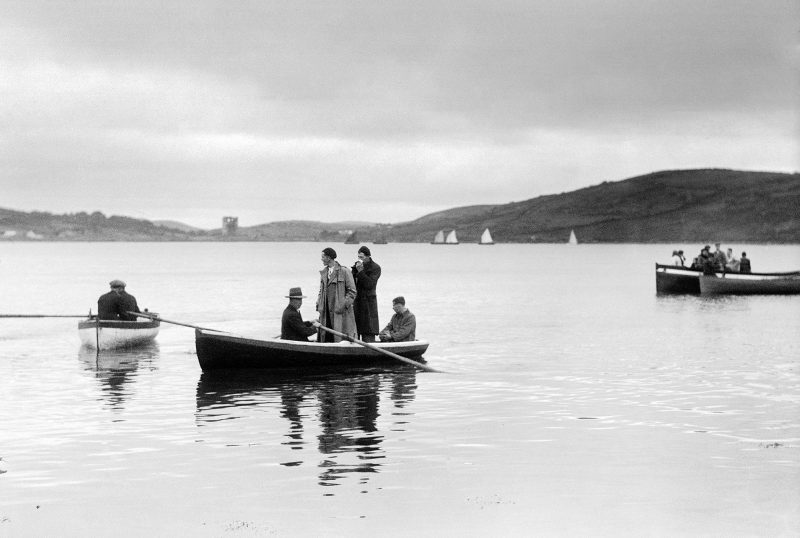 Regatta at Roscahill, Co. Mayo, 1938. Photograph by Helen Hooker O'Malley (1905-1993)