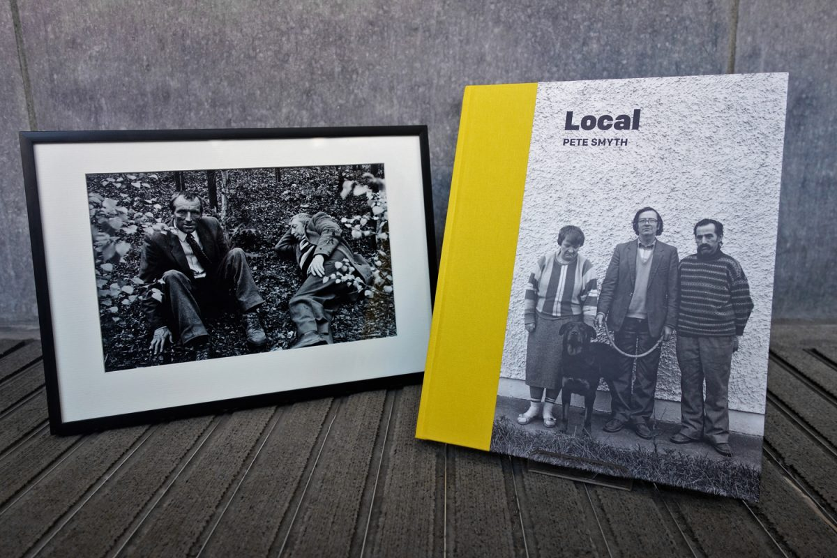 Local by Pete Smyth, with limited edition print.