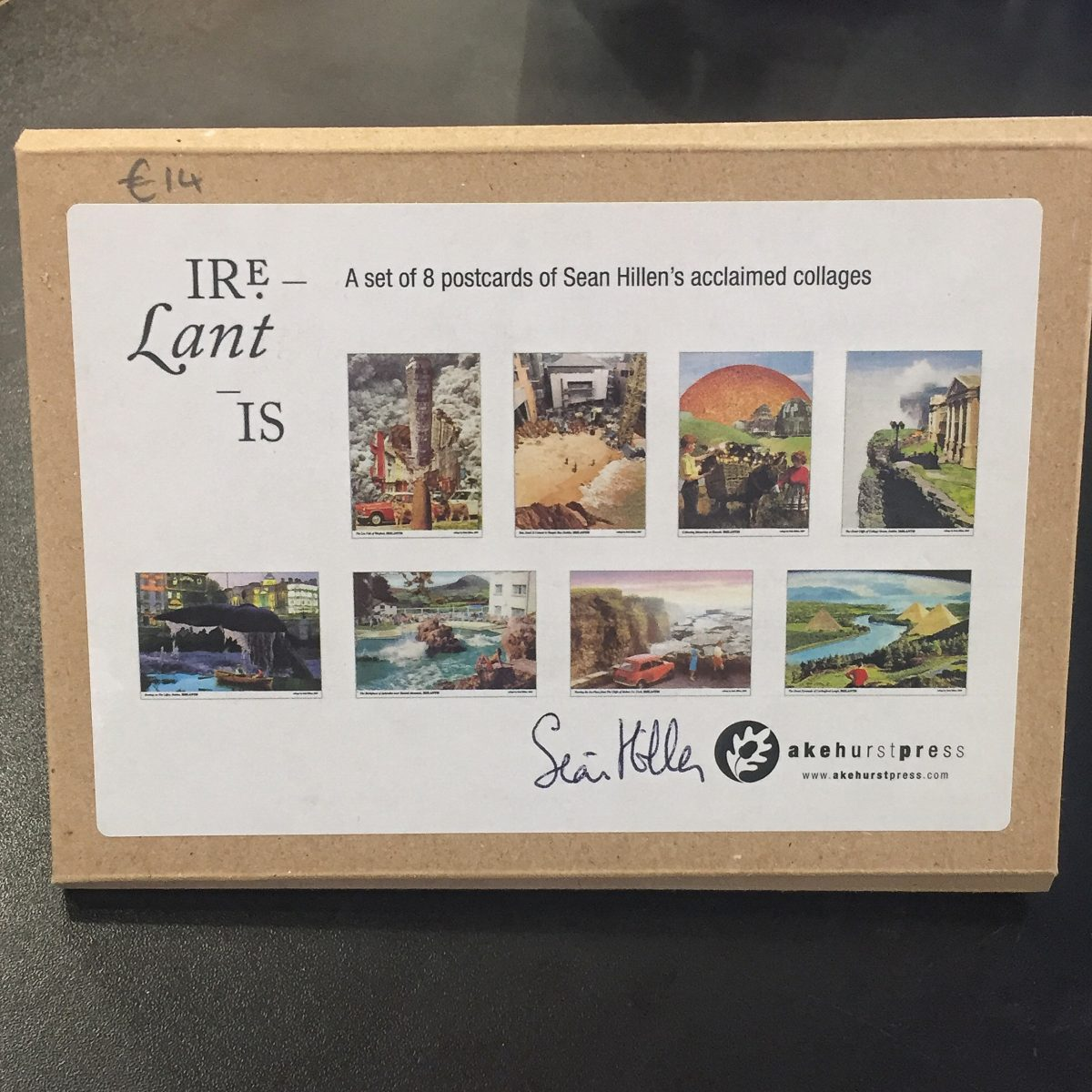 Seán Hillen – set of 8 postcards of the acclaimed IRELANTIS series